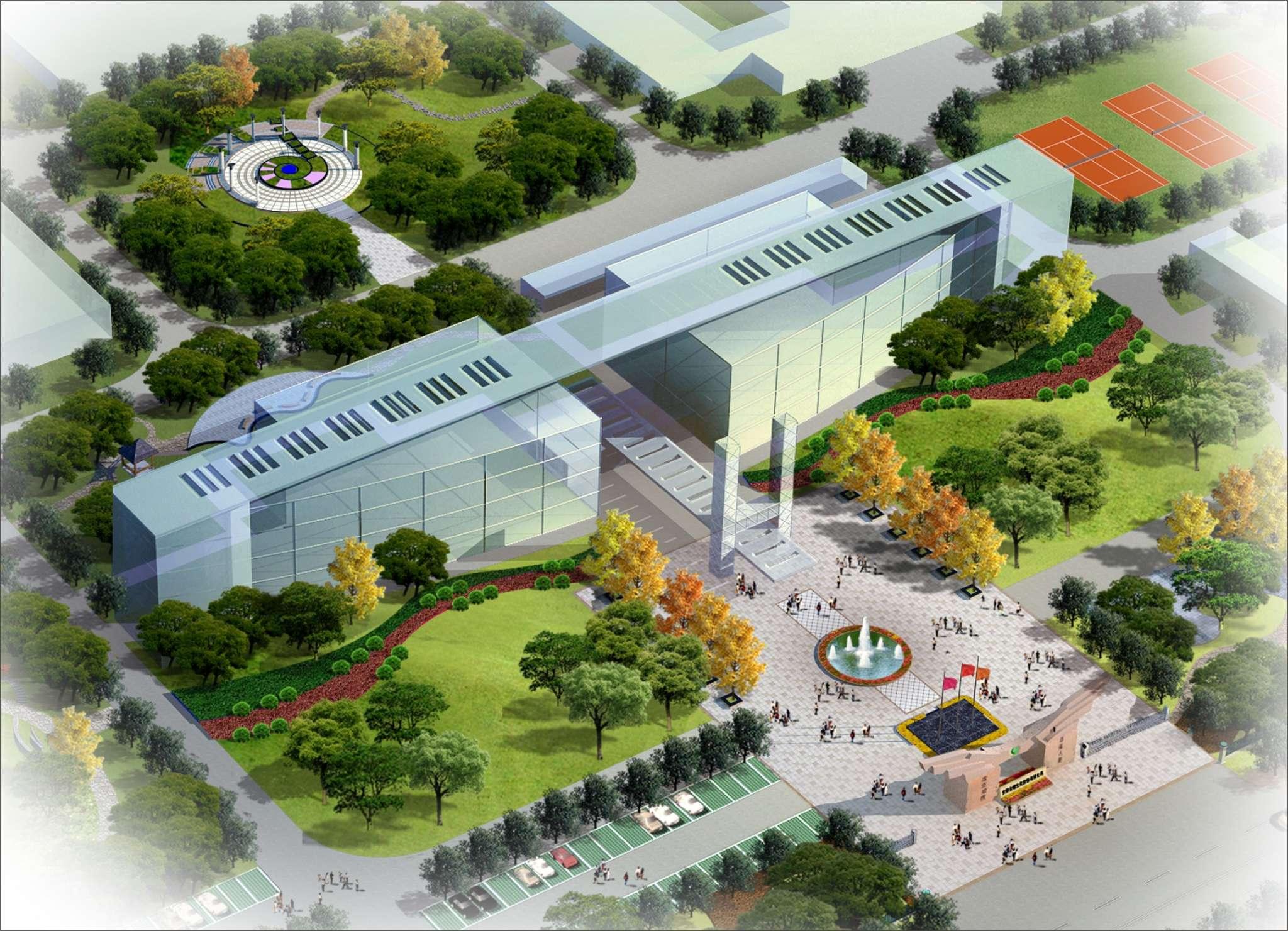 建筑设计,建筑规划设计,小区住宅景观规划设计,道路,.